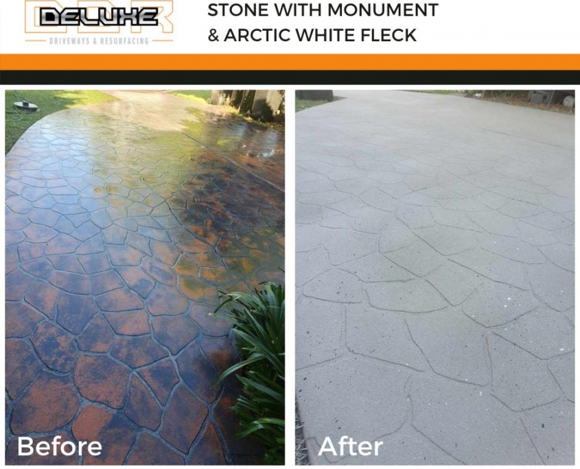 Before and After 3 - Deluxe Driveways Newcastle