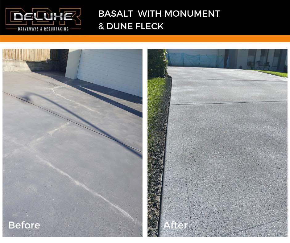 Before and After 4 - Deluxe Driveways Newcastle